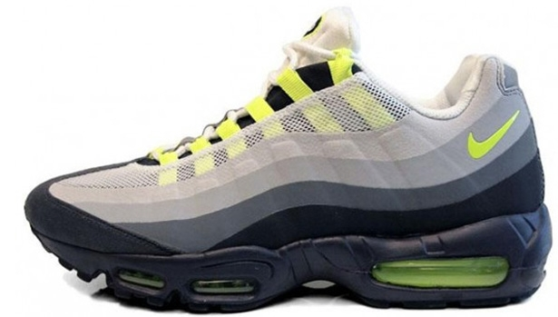Nike Air Max '95 No Sew Anthracite/Cool Grey-Volt