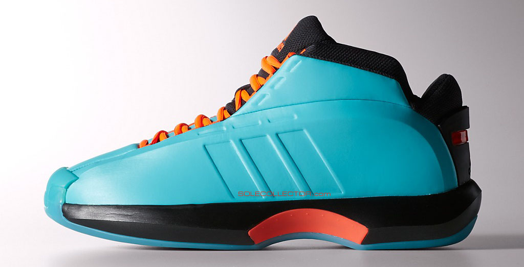 adidas Crazy 1 Teal/Orange (1)