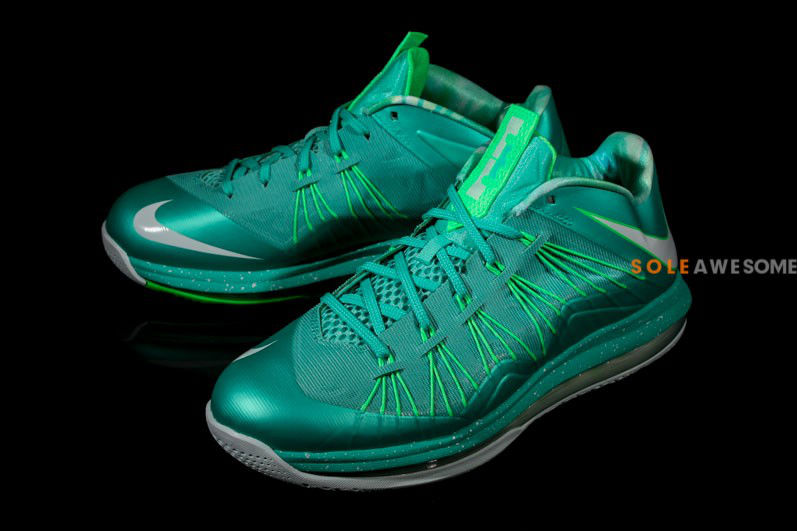 buy online f30bf 8acc0 Nike LeBron X Teal Easter 579765-300 (1)