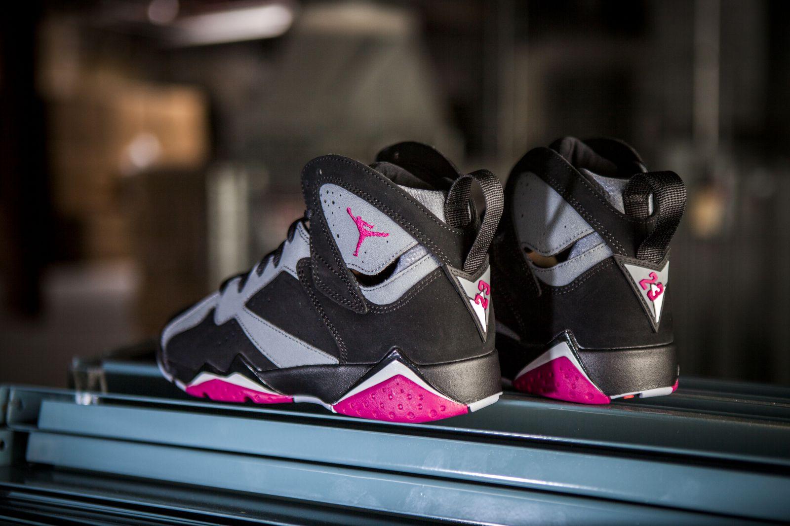 6efd72b9aa33a0 Air Jordan 7 GG Release Date  08 08 15. Color  Black Sport Fuchsia-Cool  Grey-Wolf Grey Style    442960-008. Price   140