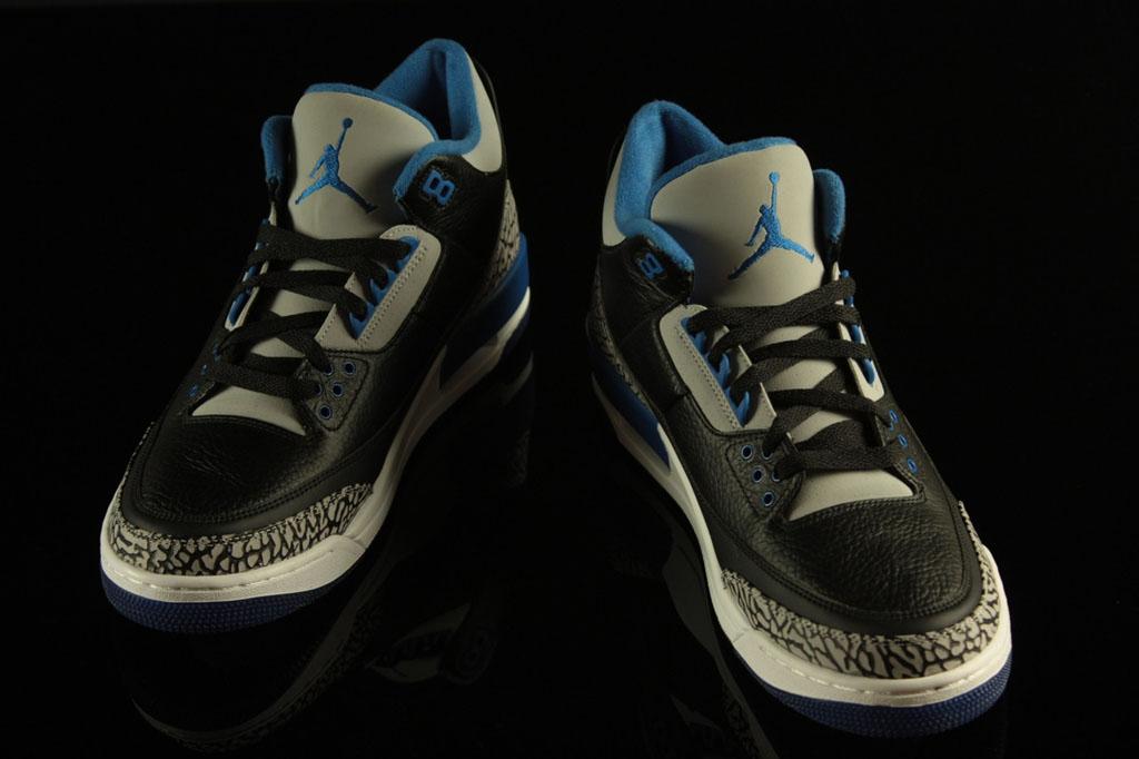afe1b288925d New Images of The  Sport Blue  Air Jordan 3 Retro
