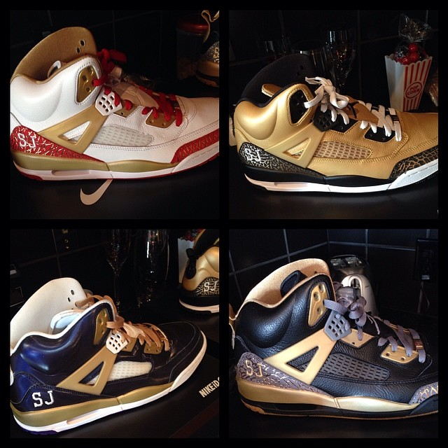 Stephen Jackson Picks Up Jordan Spizike iDs