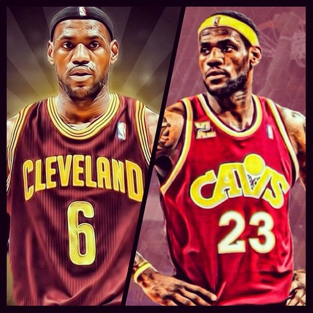 LeBron James: Number 6 or 23?
