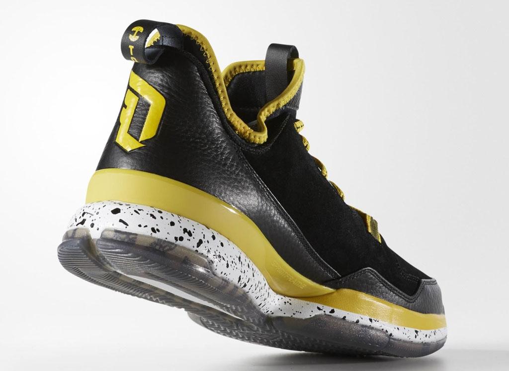 timeless design 489e1 61400 Oaklandish adidas D Lillard 1 Black Yellow Release Date (5)