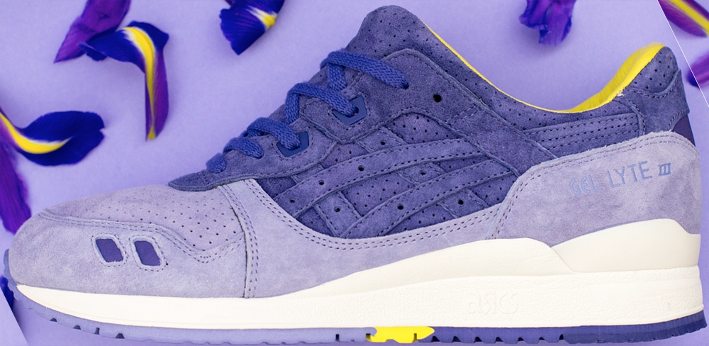 Asics Gel-Lyte III Light Purple/Dark Purple-Yellow