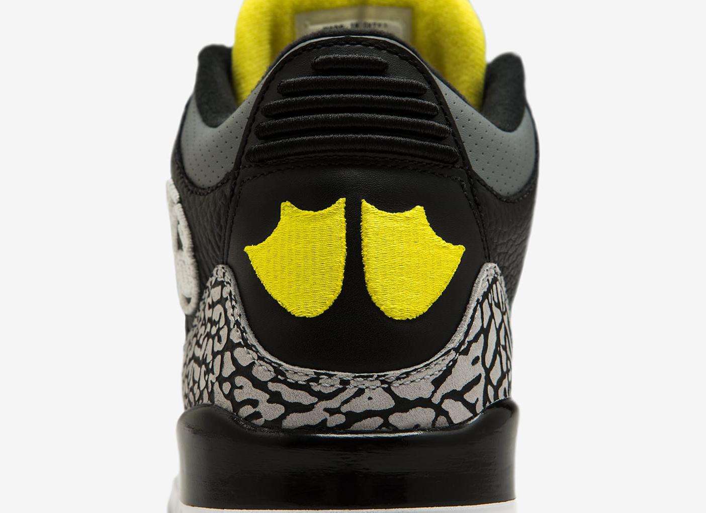 Pit Crew Jordan 3 Heel