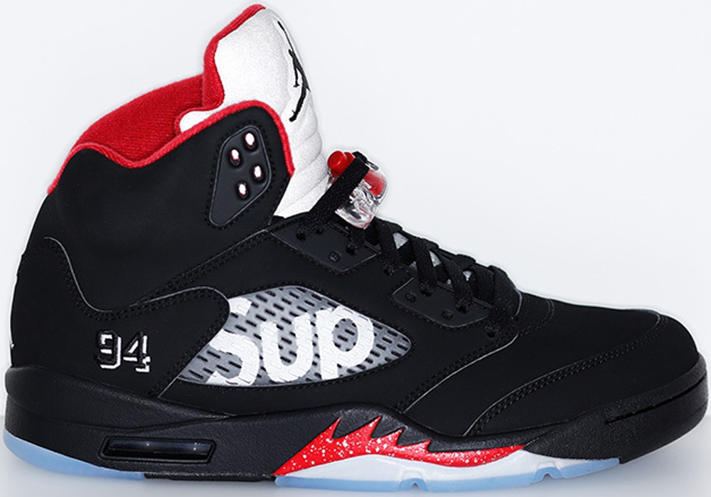 Air Jordan 5 Retro Black/Fire Red