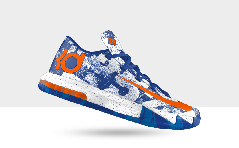 Nike iD KD VI 'MVP' Options Unveiled
