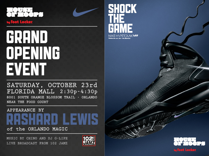 house of hoops orlando grand opening saturday october 23rd sole collector. Black Bedroom Furniture Sets. Home Design Ideas