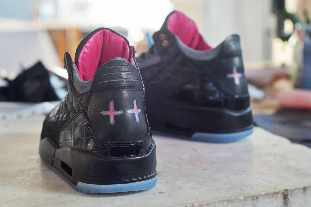813984ab5538 Air Jordan 3 Yeezy   Don C by JBF Customs Heel Wide