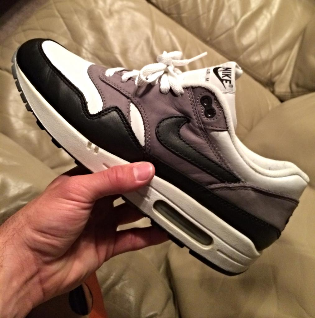 more photos 6f6ba 30c11 Fornastyy - 2003 Nike Air Max 1 Graphite Leather