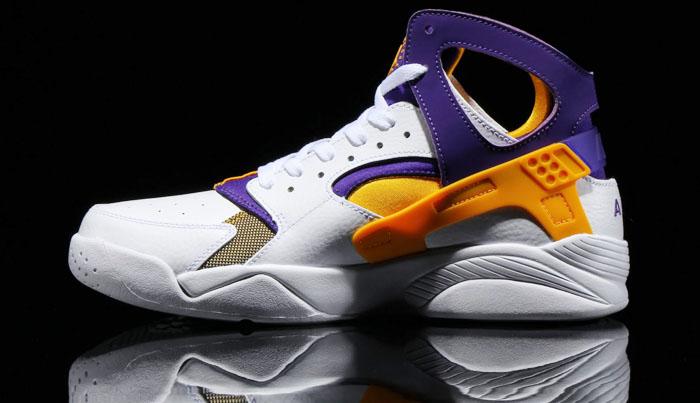 Nike Air Flight Huarache Kobe Lakers 705005,101 (2)