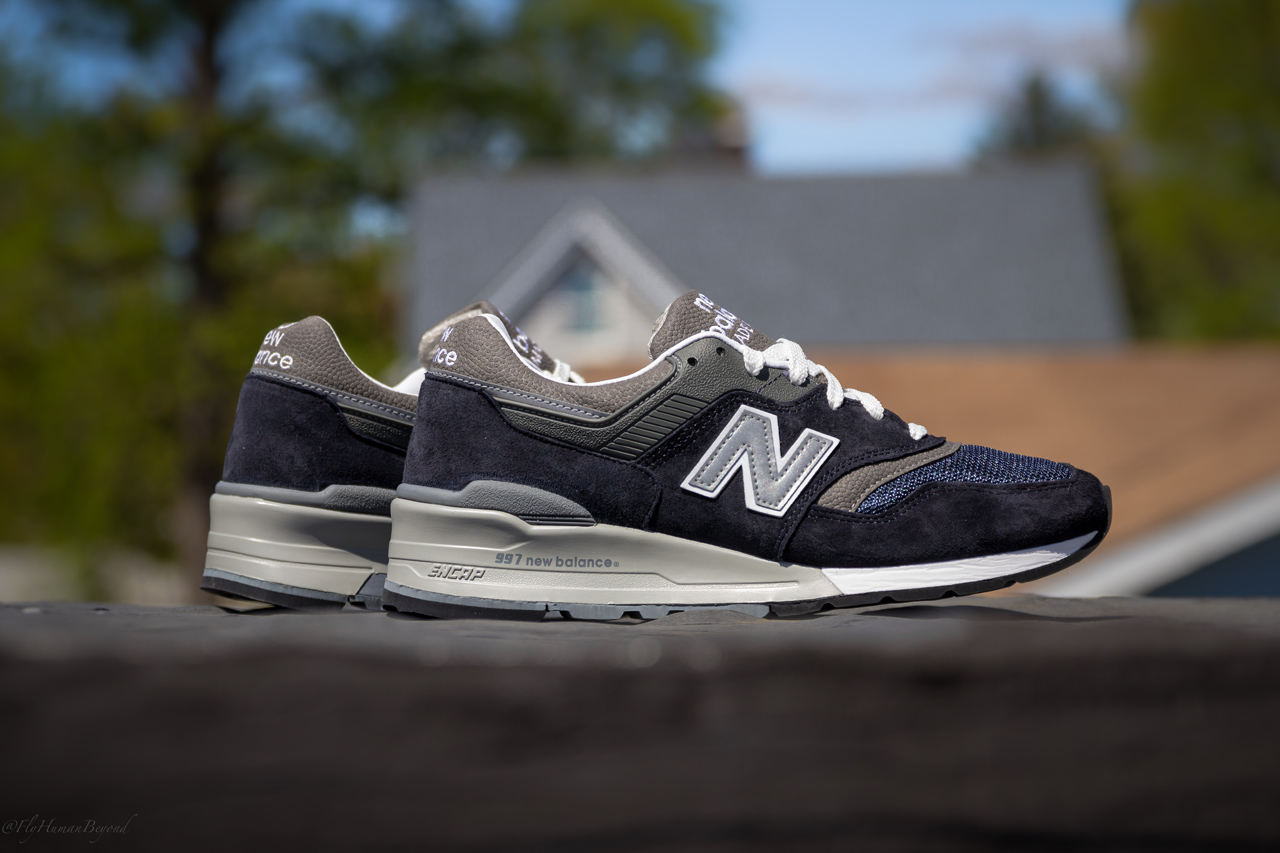 6a9b99a1918c0 New Balance 997 - Navy/Grey | Sole Collector