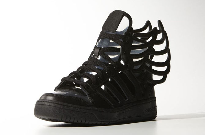 Adidas Jeremy Scott Wings 2.0 All Black