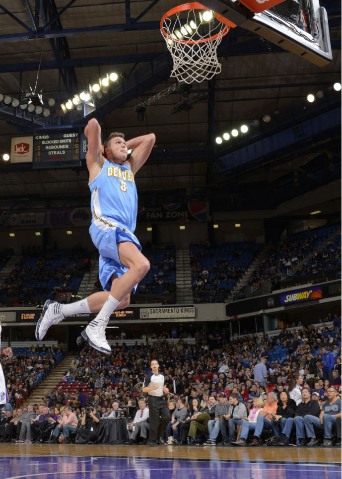 Danilo Gallinari wearing adidas adizero Crazy Light