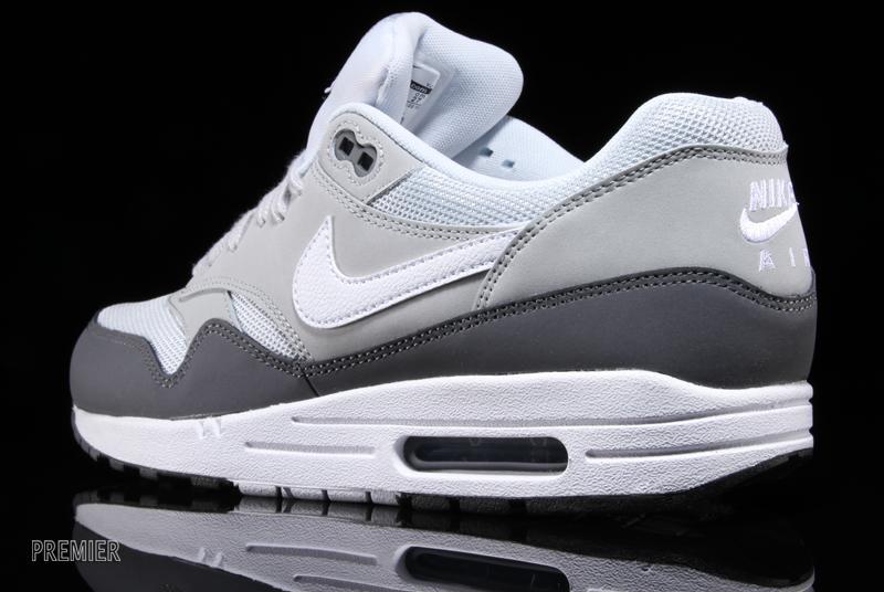 Air Max 1 White Grey