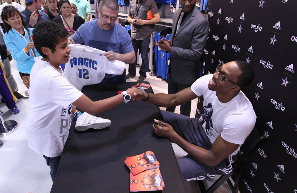 Dwight Howard's adidas All-Star Fan Appearances (3)