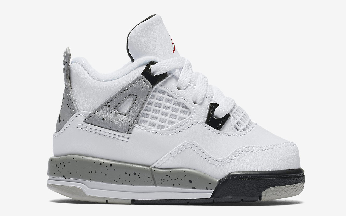 3811e7d4c4c2b6 Here Are All the Kids  White Cement  Air Jordan 4s Releasing
