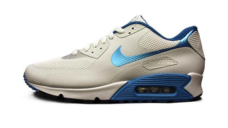 Nike Air Max 90 Hyperfuse Premium Platinum Dynamic Blue