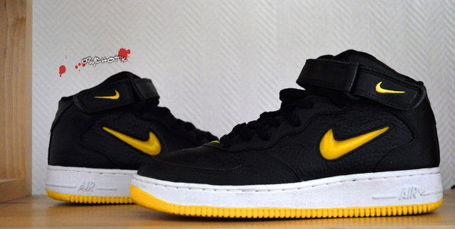 Spotlight // Pickups of the Week 11.10.12 - Nike Air Force 1 Mid Black Yellow Jewel by af1lova