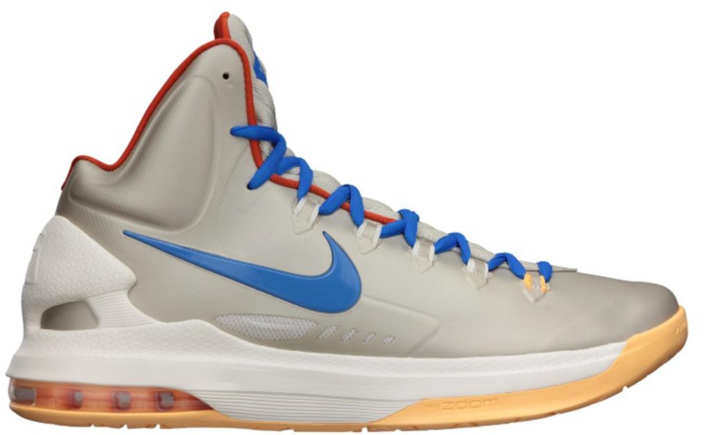 Nike KD V \u0026#39;Birch\u0026#39; 554988-200 Birch/Photo Blue-Sail-Team Orange
