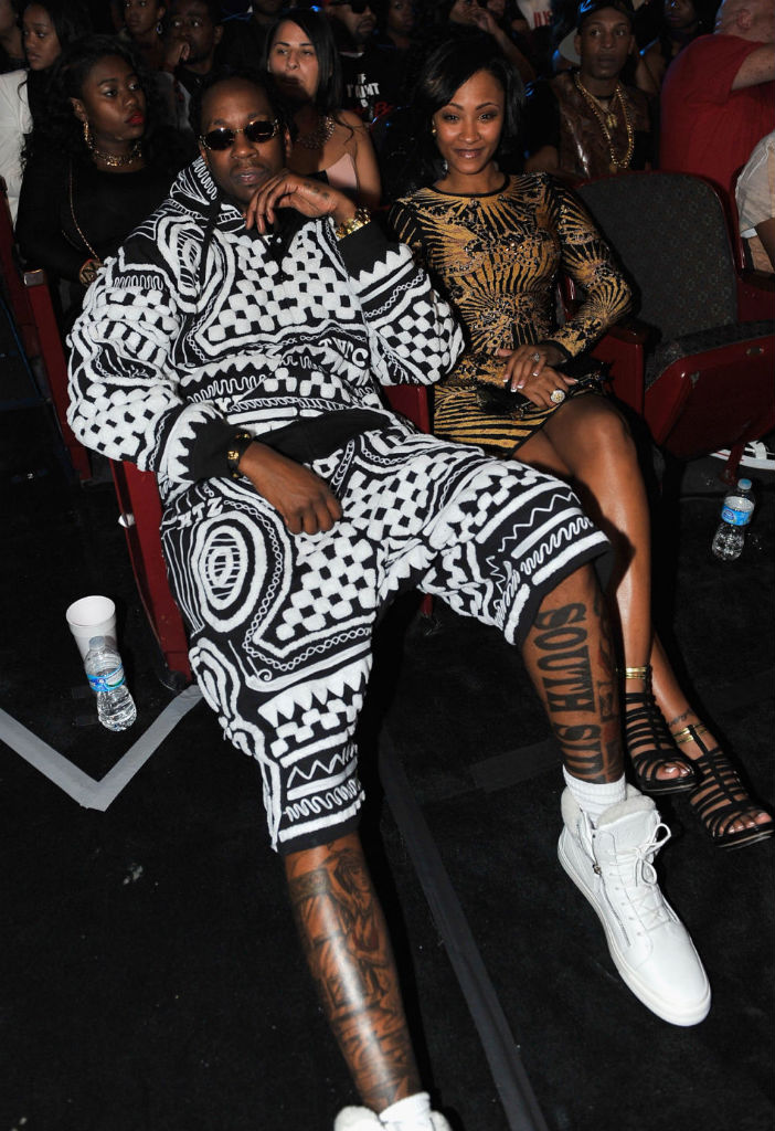 2 Chainz wearing Giuseppe Zanotti Double-Zip Sneakers