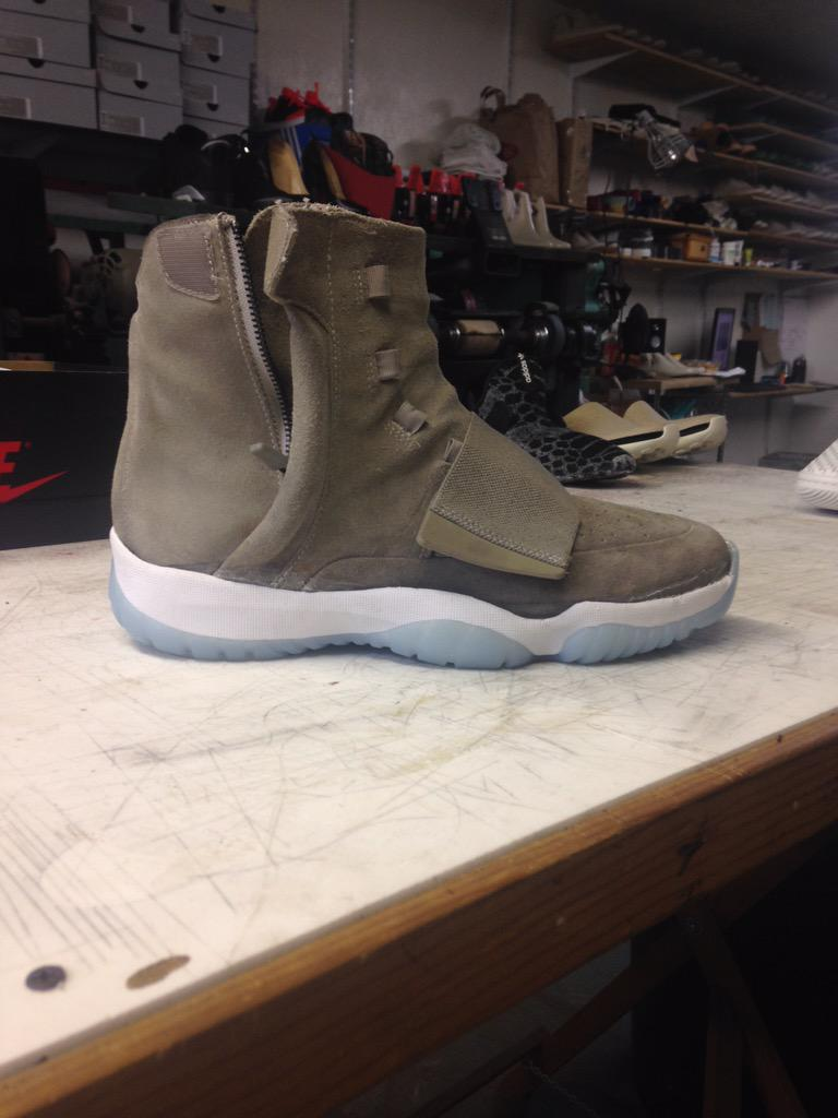 adidas Yeezy Boost Air Jordan 11 Sole Custom