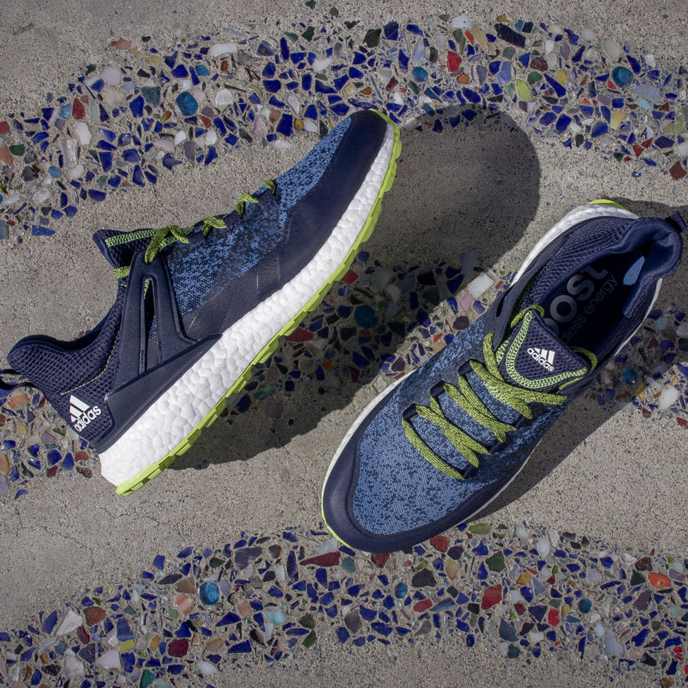 Adidas Crossknit Boost Golf Shoe Blue Green