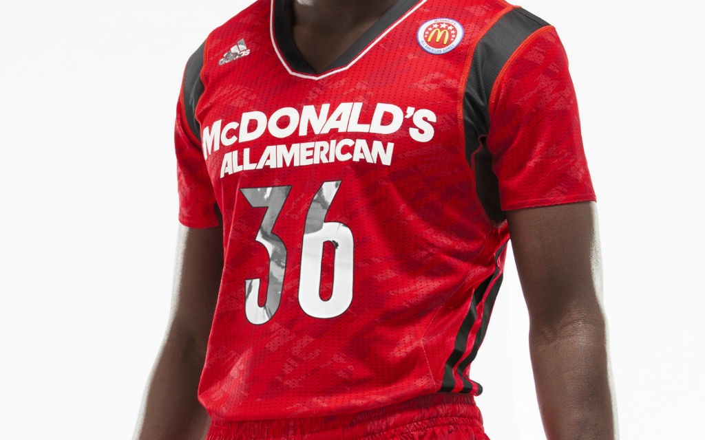 853c9099a adidas Unveils 2013 McDonald s All American Game Short Sleeve ...