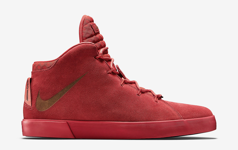 size 40 ebce0 1d68f Nike LeBron 12 NSW Lifestyle QS Color  Challenge Red Challenge Red Style     716417-600
