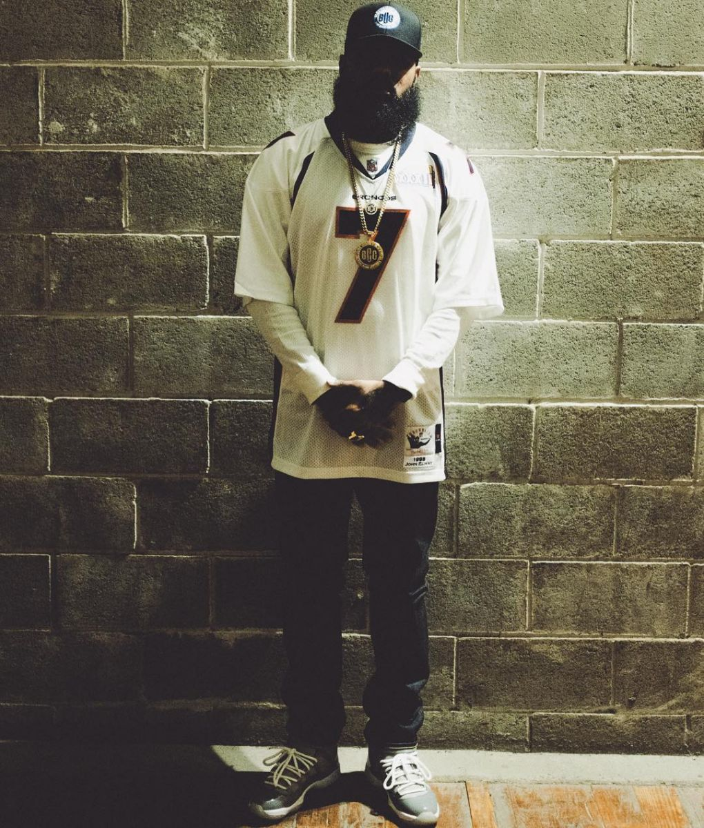 ... discount code for stalley wearing the cool grey air jordan 11 42e51  f2bea 121c415a2