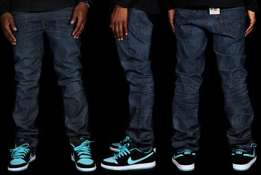 The 511 Team Edition Jeans come in Dark Indigo and Apache color options.  Each of the 2000 available pairs are individually numbered. Contact your  local Nike ... 47c271495e5d