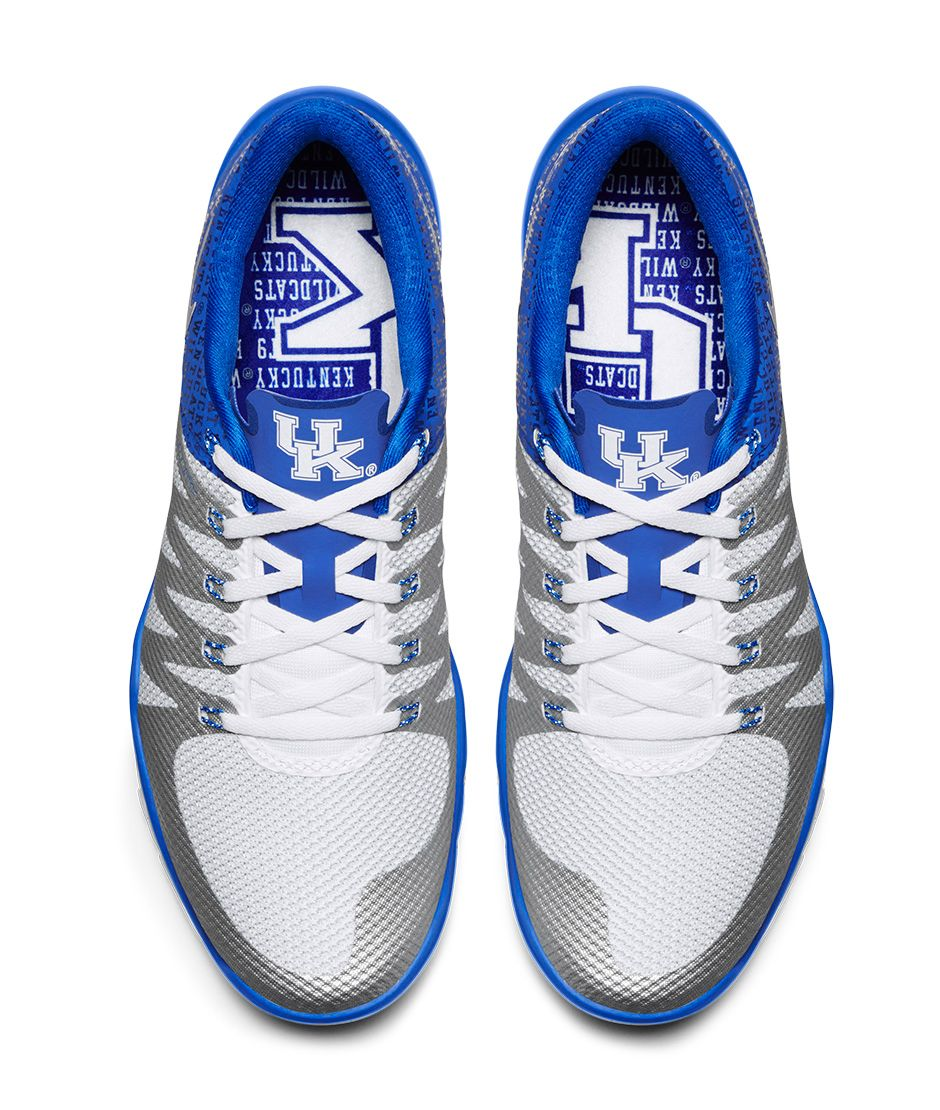 Nike Free Trainer 5.0 \u0026quot;Kentucky\u0026quot; Release Date: 10/30/15. Color: Game Royal/White/Deep Royal Blue/Metallic Silver Style #: 723939-401. Price: $110