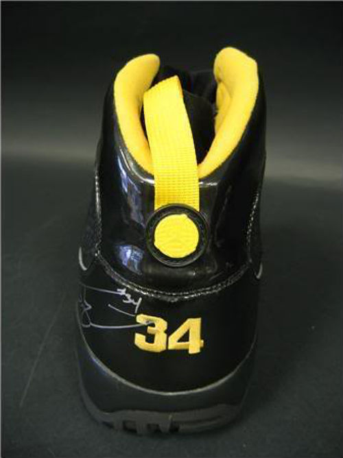 Air Jordan IX 9 Shaquille O'Neal Shaq Lakers Away PE (7)