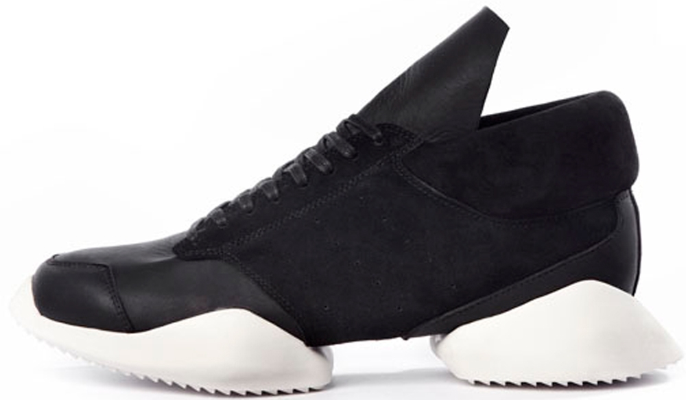 adidas Rick Owens Tech Runner Black/White
