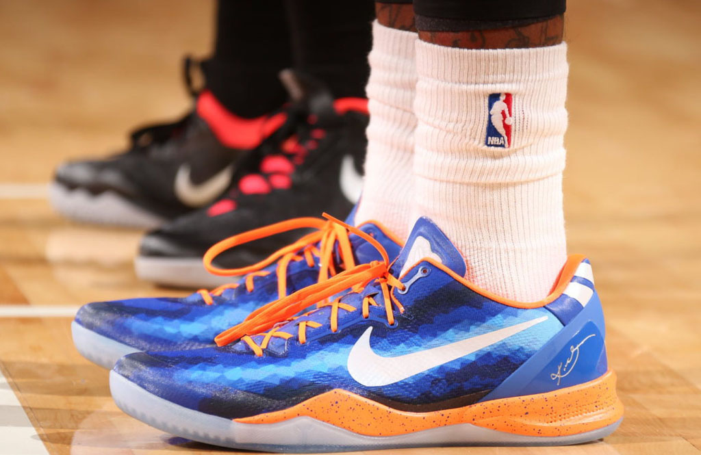 J.R. Smith's Knicks NIKEiD Kobe 8 (1)