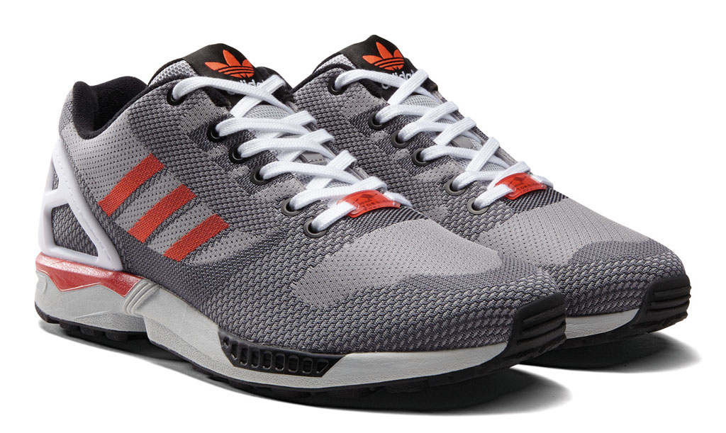 adidas ZX Flux 8000 Weave Pack Grey Red White (2)
