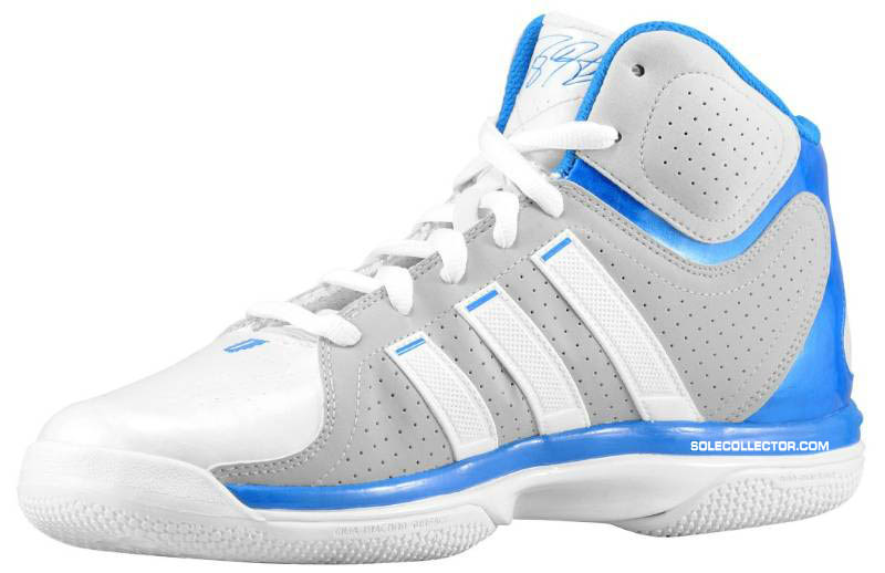 the latest 95c4c 6a7fc adidas adiPower Howard White Grey Blue G20283