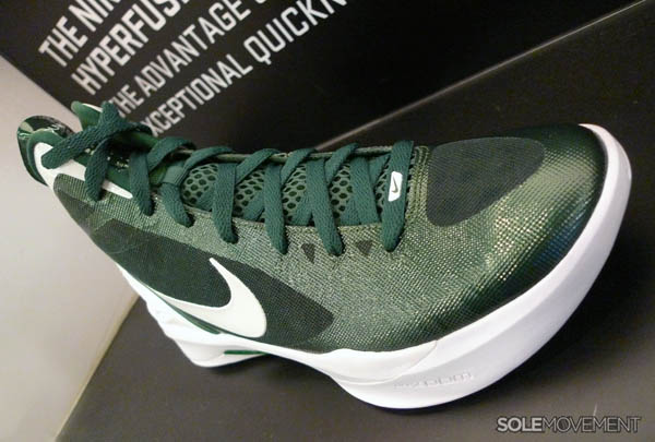 competitive price dcbf7 e5c10 Nike Zoom Hyperdunk 2011 Gorge Green White 454143-300
