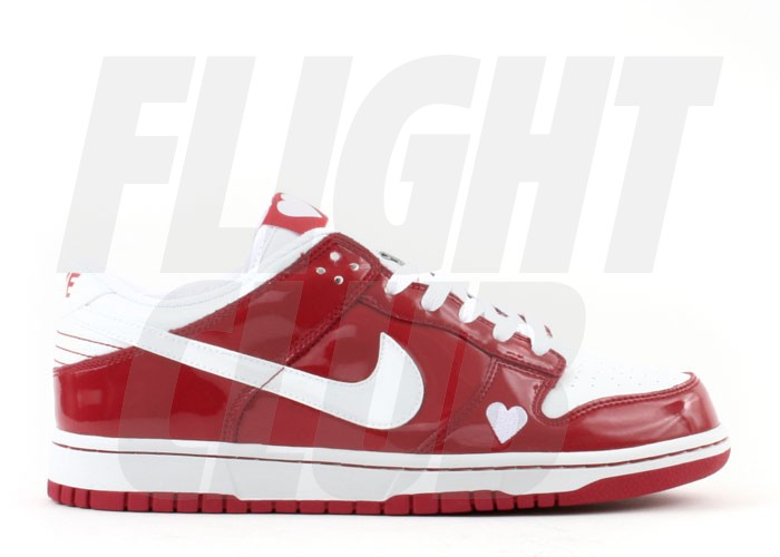 6178b00825 Nike Air Jordan 1 Retro Basketball Shoes Valentine Day Pink White. heart  shaped logos were once again utilized by the swoosh placing them on the  tongue and