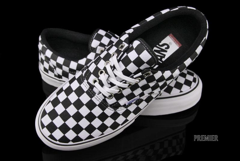 An all checkered-out version of the Vans Era Pro is now available. 8d13b0898