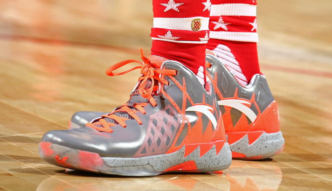 Klay Thompson Wearing the 'All-Star' ANTA KT 1 (2)