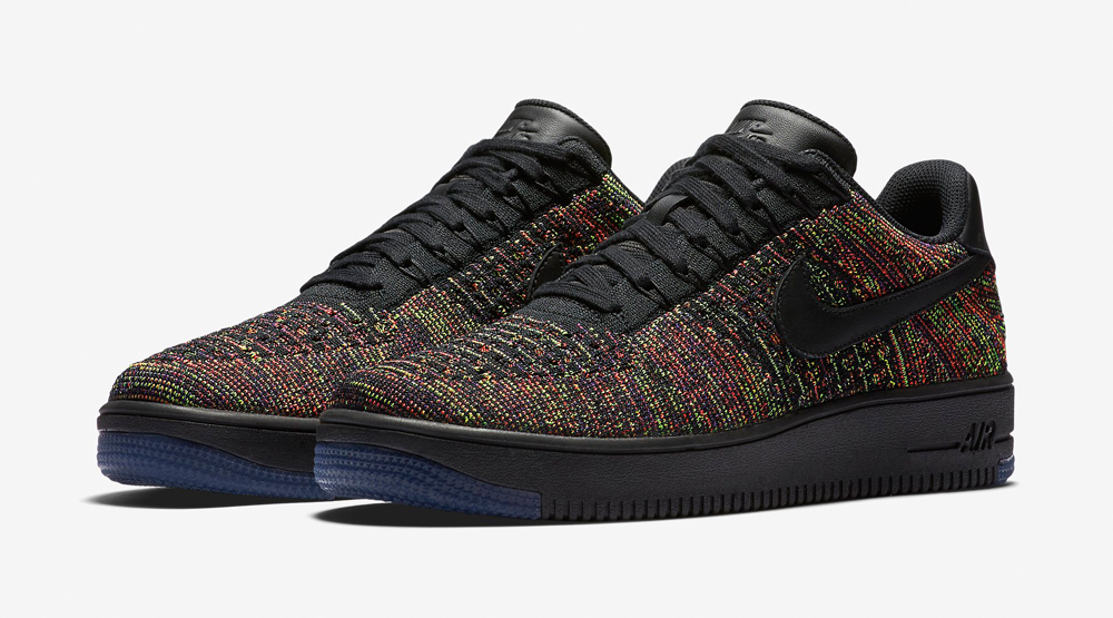 sports shoes 30246 b8bb2 Flyknit Nike Air Force 1 Multicolor