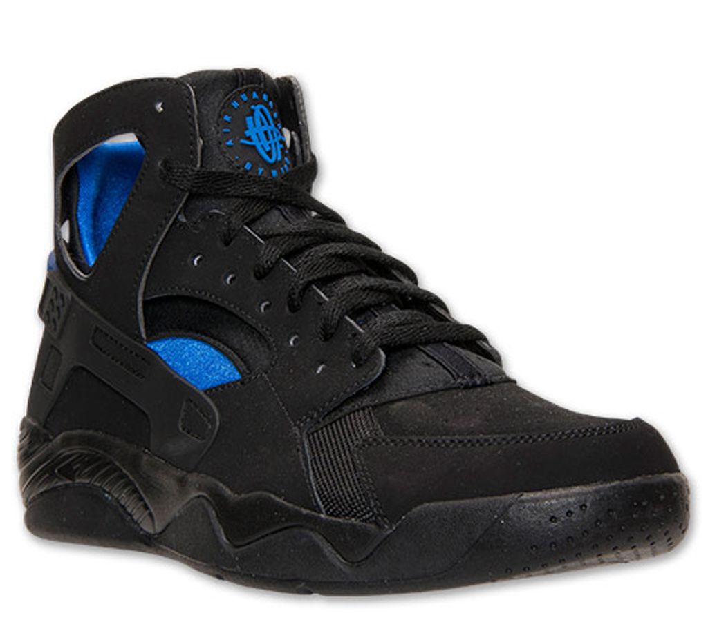 174a3675 Release Date: Nike Air Flight Huarache Black/Lyon Blue | Sole Collector