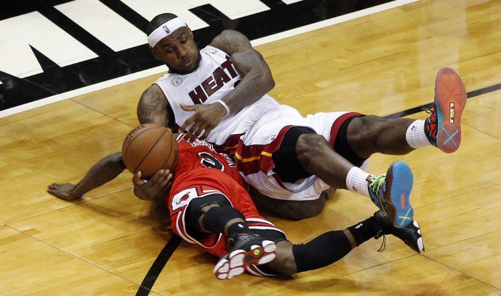 LeBron James wearing Nike LeBron X What the MVP (9)
