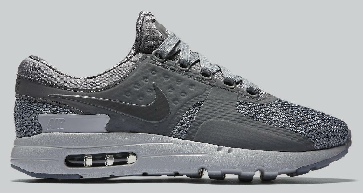Nike Air Max Zero Cool Grey Side 789695-003