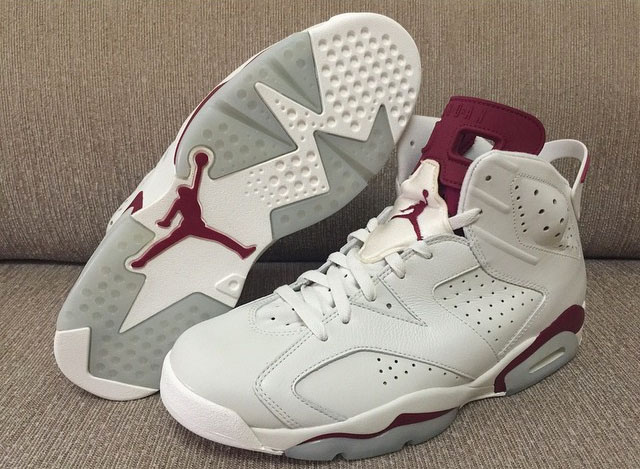 Jordan 6 Maroon Details | SneakerNews.com