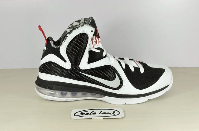 new arrival da61d 4be33 First look at what appears to be another home colorway of the Nike LeBron 9.