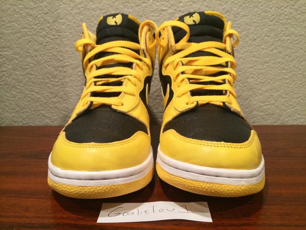 buy online c34ae aba98 Ultra Rare 'Wu-Tang' Nike Dunk High Hits eBay | Sole Collector