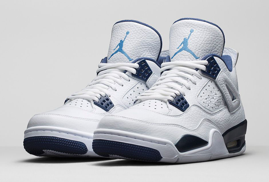 ae57ed6ba92 An Official Look at the 'Legend Blue' Air Jordan 4 | Sole Collector